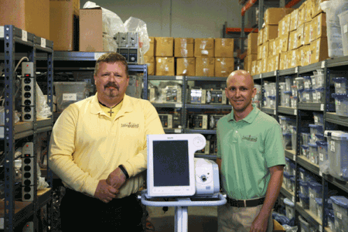 Integrated Services Manager Robert Bean and Account Executive Drew Dennis have the knowledge and experience to handle your equipment needs.