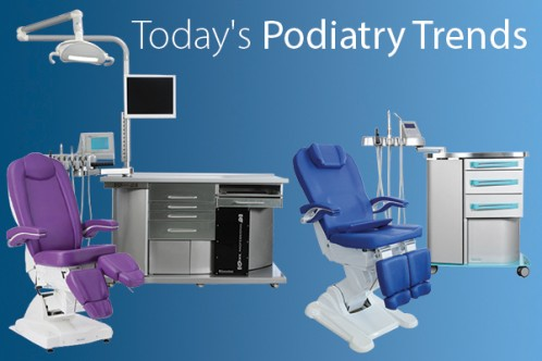 Euroclinic's specialized podiatry design is setting a new bar in terms of innovation, ergonomics and productivity considerations.