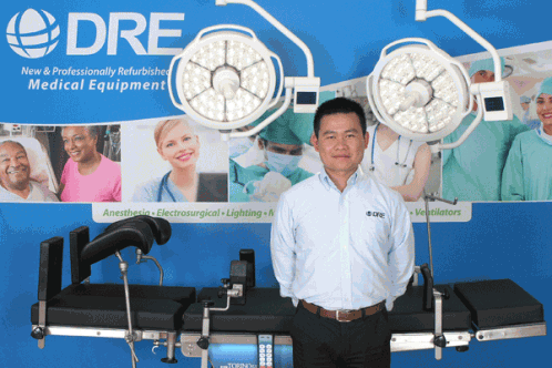 Kevin Yang will be leading DRE's Asia-Pacific Team.