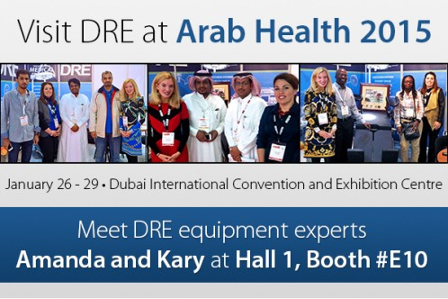 Visit DRE equipment experts Amanda and Kary at Hall 1, booth #E10!