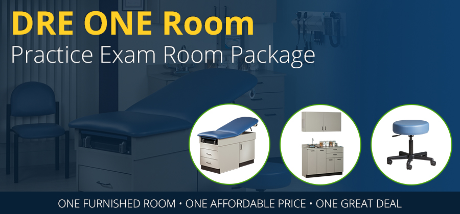 DRE One Room Practice Exam Package