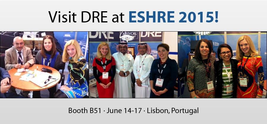 Visit DRE at ESHRE 2015!
