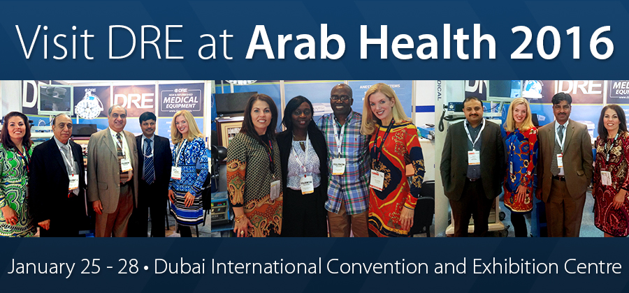 Visit DRE at Arab Health 2016