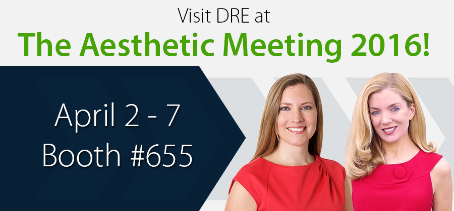 Visit DRE at The Aesthetic Meeting 2016!