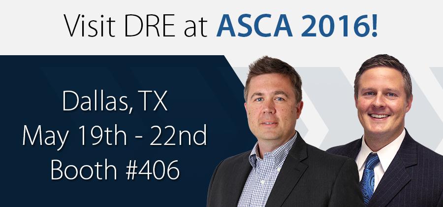 Visit DRE at ASCA 2016!
