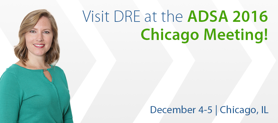 Visit DRE at the ADSA 2016 Chicago Meeting