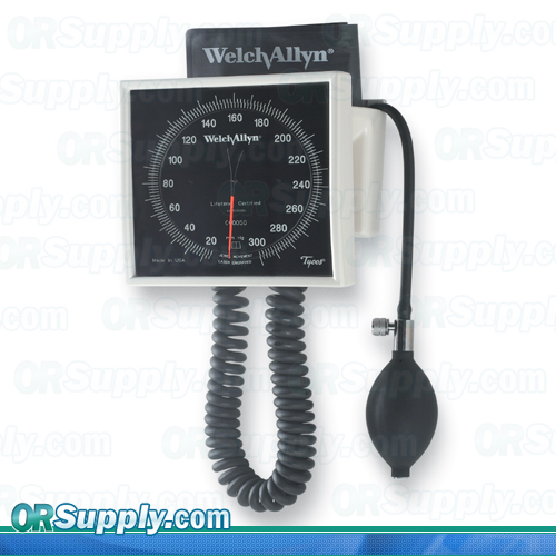 Welch allyn tycos 767 and mobile aneroids for Tensiometro de pared welch allyn