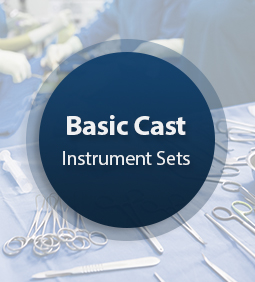 Basic Cast Surgical Instrument Set