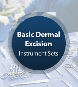 Instrument Set Dermal Excision