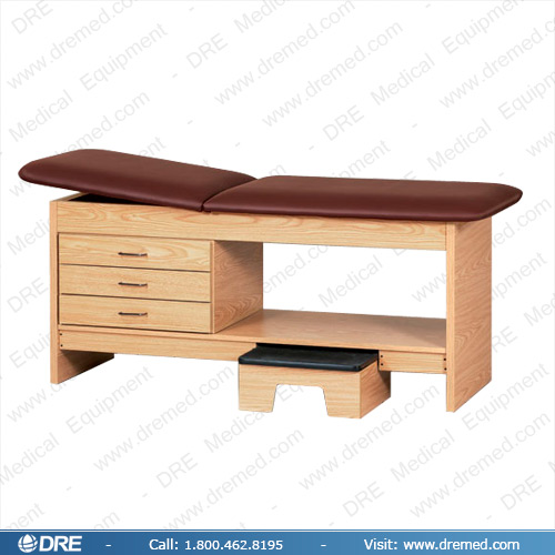 Clinton Laminate Treatment Table with Stool - 9133