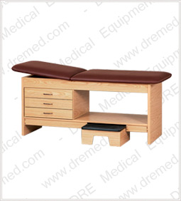 Clinton Laminate Treatment Table with Stool -9133