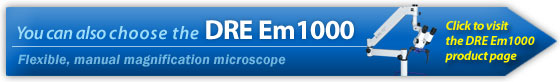 DRE Em1000 manual magnification microscope