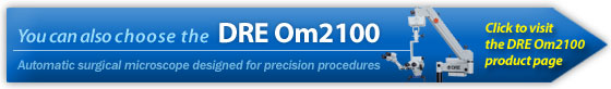 DRE Om2100 automatic surgical microscope