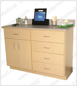 DRE Value Series Cabinet - 5 Drawer, 2 Door Cabinet