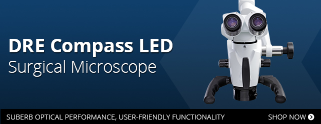Learn more about the DRE Compass LED Surgical Microscope.