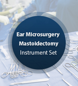 Ear Microsurgery Mastoidectomy Set