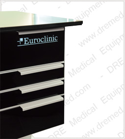 Euroclinic Steel TS Podiatry Workstation Drawers