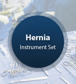 Hernia Surgical Instrument Set