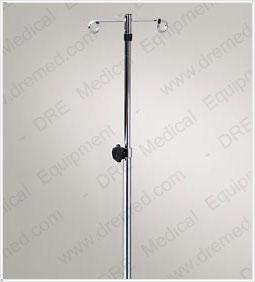Clinton Six-Leg 2-Hook IV Pole