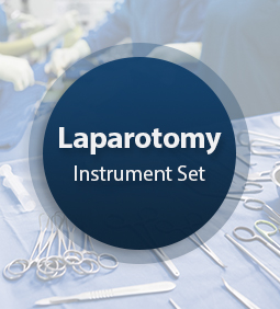 Laparotomy Surgical Instrument Set