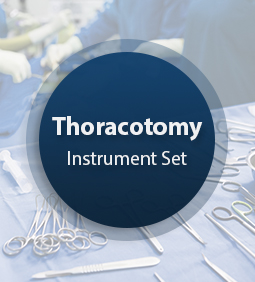 Thoracotomy Surgical Instrument Set
