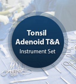 Tonsil Adenoid T & A Instrument Set
