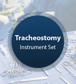 Tracheostomy Surgical Instrument Set