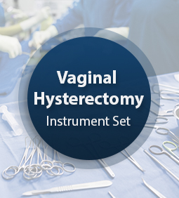 Vaginal Hysterectomy Instrument Set
