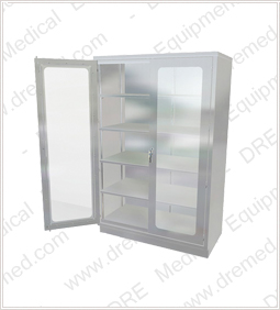 DRE Surgical Stainless Steel Operating Room Cabinet