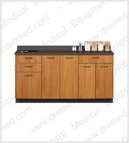 Clinton Base Cabinet with 5 Doors and 3 Drawers - 8066