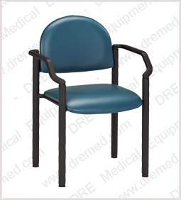Clinton Black Frame Chair with Arms - C-50B