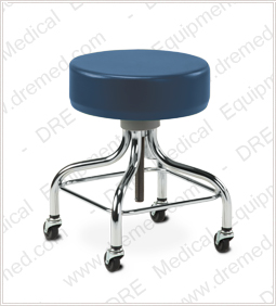 Clinton Chrome Base Stool - 2102