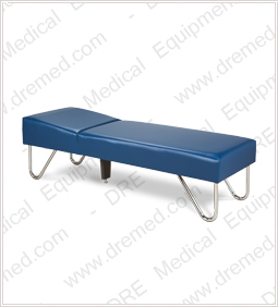 Clinton Chrome Leg Couch - 3600