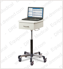 Clinton Compact Tec-Cart Mobile Work Station with Drawer
