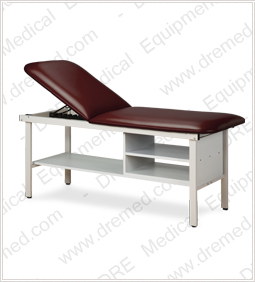 Clinton ETA Alpha Series Treatment Table with Shelving - 3030