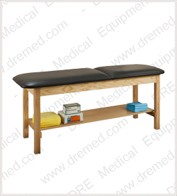 Clinton ETA Classic Series Treatment Table with Shelf - 1020