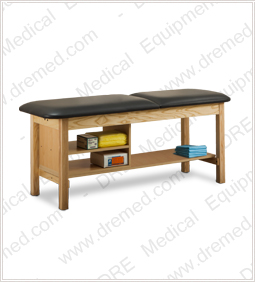 Clinton ETA Classic Series Treatment Table with Shelving - 1030