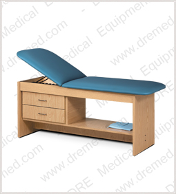Clinton ETA Style Line Series Treatment Table with Drawers - 9013