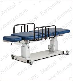 Clinton Multi-Use Imaging Table with Stirrups and Drop Window rails