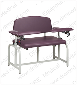 Clinton Lab X Series Extra-Wide Phlebotomy Chair - 66000B