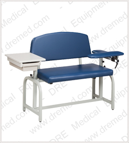 Clinton Lab X Series Extra-Wide Phlebotomy Chair - 66002