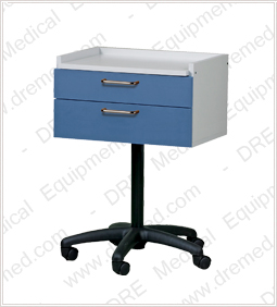 Clinton Mobile Equipment Cart with 2 Drawers - 8920