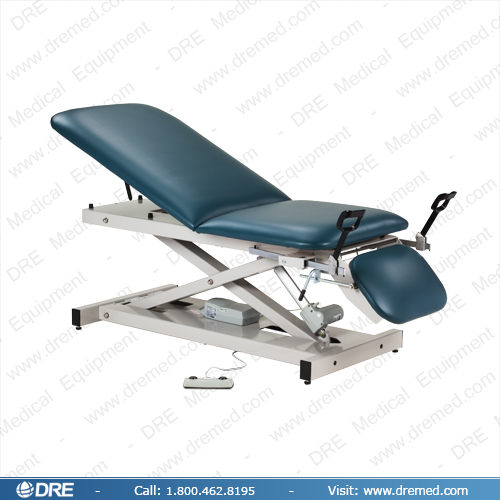 Clinton Power Table with Stirrups, Adjustable Backrest & Drop Section - 80360