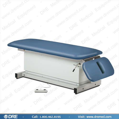 Clinton Shrouded Power Exam Table with Drop Section - 81220