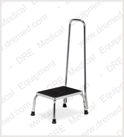 Clinton Step Stool with Hand Rail - T-50