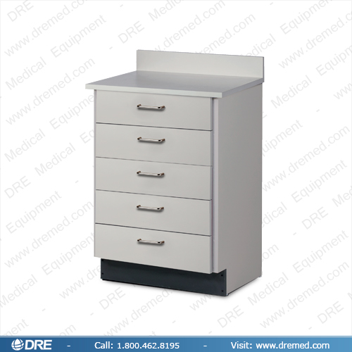 Clinton Treatment Cabinet with 5 Drawers - 8805
