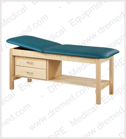 Clinton Eco-Friendly Wood Treatment Table with Drawers - 81013