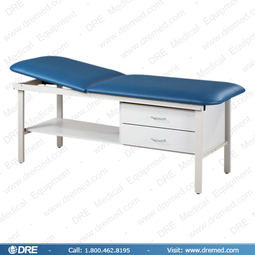 Clinton Eco-Friendly Steel Treatment Table with Drawers - 83013