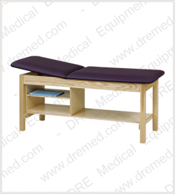 Clinton Treatment Table with Shelving - 1030