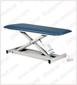 Clinton Open Base Power Table with One Piece Top